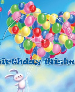 Balloon Birthday (Coloring the World)